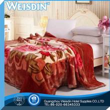 queen size Guangzhou coral fleece furniture necessary love blanket