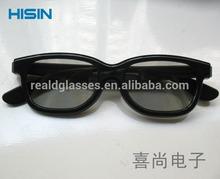 Real D Circular Polarized 3D Glasses, 3D Polarized Glasses