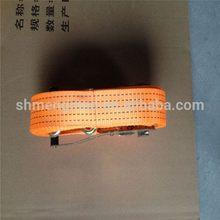 Excellent quality newest double j hooks ratchet straps