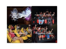 2014 Animation game industry products 7d motion system theater for sale