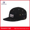 wholesale high quality oem logo designed custom floral 5 panel snapback hats wholesale
