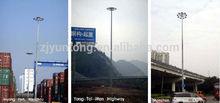 High Mast Light Pole 20M,25M,30M,35M,IP65 with auto lifting system