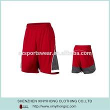 2015 Contrast Color Fashion Mens Nylon Basketball/Running Shorts