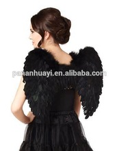 Wholesale Big Black/White Feather Angel Wings,Large Feather Angel Wings