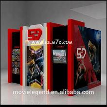 2015 Popular 3D 4D 5D/7D Cinema Equipment 7D Cinema For Sale