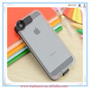 2014 New Clear Transparent Connect High Speed USB Charge Cable Led Flash Light Up Cases Cover For Apple iphone 5 5G 5S case