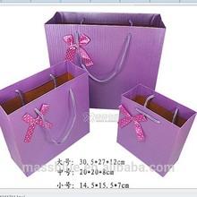 custom paper bag gift paper bag shopping paper bag