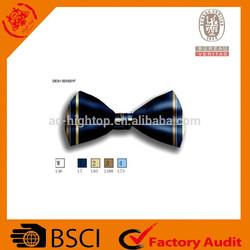 fashion custom woven mens silk bow tie