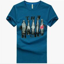 wholesale cotton polyester short sleeve custom men brand fashion t-shirt