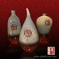 el arte moderno deign esmalte de color hecho a mano de cerámica florero de cuentas para venta al por mayor