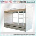 Móveis de alumínio/personalizado de alumínio cheio beliche/cama de casal