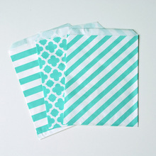 2015 popular product Green Candy Paper Bag