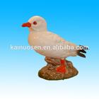 vintage hand painted ceramic seagulls