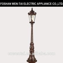 antique light pole/garden electrical fitting/garden light