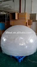 Large Customized Milky white acrylic 1500mm hemisphere dome