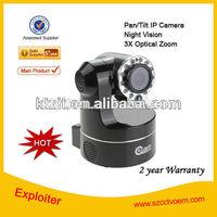 1.0 MP Mini indoor wireless Webcam HD 720P Waterproof Dome P2P IP Camera