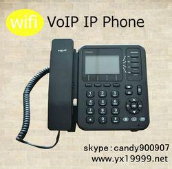 IP542N 4 line wifi usb voip phone , asterisk wifi usb voip sip desk phone