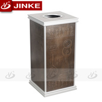 Outdoor Waste Bins For School Push Grey Hospital Streets Subway Restaurants Supermarkets