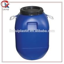 50liter square plastic pail drum/blue plastic barrel drums scrap