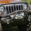 Double X Striker Steel textured black front Bumper for Jeep Wrangler 2007+-Current -COS49131
