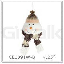2015 christmas tree ornament snowman ball