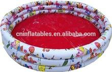 3-Ring Cartoon Printing PVC Inflatable swimming Pool/children inflatable swimming pool