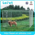 low price low MOQS iron outdoor metal dog run(alibaba china)