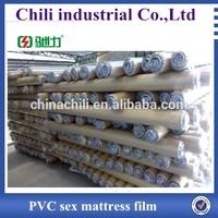 Clear soft PVC film in roll