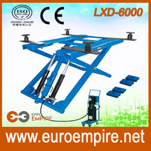 LXD-6000 made in china ali baba express automobile products scissor lifts for sale / scissor lift car / CE car lift