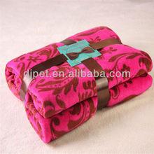 100% polyester super soft tree print fleece blanket
