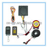 sound system alarm of the motorcycle disc lock