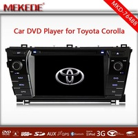Car dvd gps Gps navigation car central armrest dvd player touch screen car dvd player For Toyota Corolla 2014