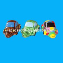 Cartoon Car Handmade Clay Handicrafts