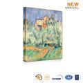 Abstrata moderna pintura a óleo paisagem de outono