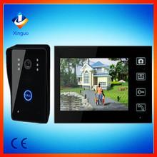 7 Inch digital door phonel video wireless intercom