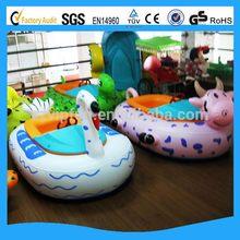 Designer promotional large adult inflatable bumper boat