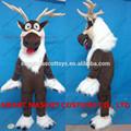 o mais novo rena congelados sven mascote