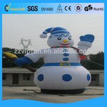 Economic promotional commercial inflatable snowman