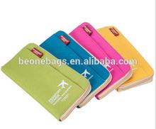 2015 Latest New Designer Colorful Hotsale Travel Passport Holder Phone Wallet Bag