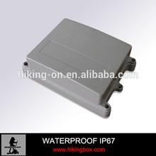 Rectangular Plastic Waterproof Enclosure, removable cover IP67