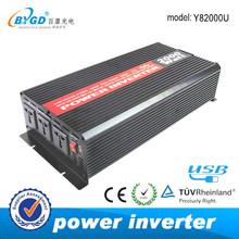 2000w inverter.dual output Off grid dc to ac power inverter 12v 220v