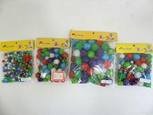 mini christmas ornaments china import pompons