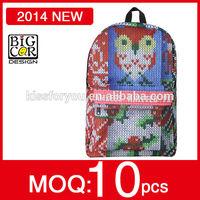 Manufactory supply latest design children fancy school bag,adult school bag,school bag canada style