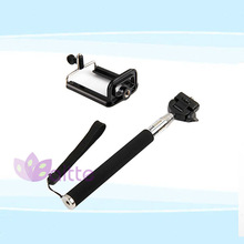 Best selling Bluetooth shutter,bluetooth monopod for mobile phone with clip