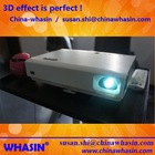 3800 lumens mini led video projector china mobile phone/native 720P hd 3d led android projector phone wifi 3g