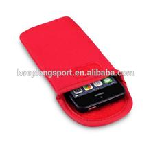 Black Elastic Neoprene Aquatics Pouch Case Cover for 5.5 inch