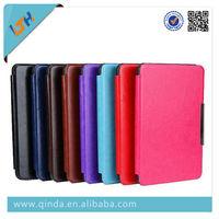 High quality origin kindle paperwhite case cover leather case for Amazon Kindle Paperwhite 8 colors