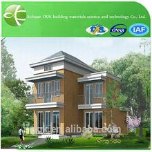 eco friendly big luxury prefab house building prefabricated villa