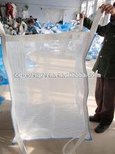 Cheap PP FIBC Big Bulk Plastic Bag Jumbo Bag Super Sack Packing For Sand Coal Rice Laminated 1 Ton Chinese Manufacturer