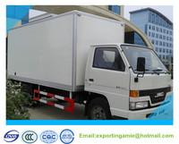 New generation China 5 ton JMC brand 4x2 diesel 115HP mini van truck